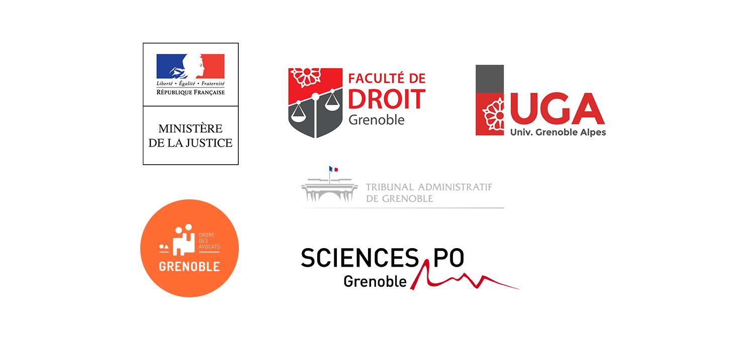 Logos partenaires Nuit de la justice